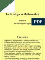 ExtraW9-Technology in Mathematics