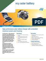 High-Efficiency Solar Battery Charger-flspv1040