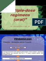 Multiple Dose Regiment Oral