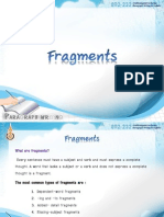 7. Fragments