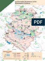 Harta Judetului ILFOV - Patrimoniu cultural
