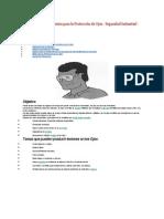 Normas y Procedimientos para la Protección de Ojos