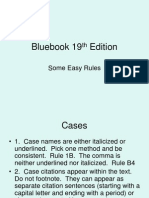 Bluebook 19th Edition