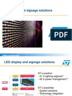 Led Display and Signage Solutions Marketing Presentation