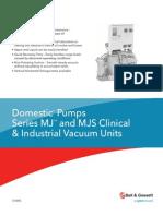 Industrial -Clinical Vacuum Pump Units