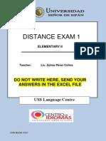 Distance Exam 1 e02