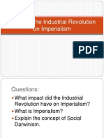 impact of the industrial revolution on imperialism
