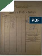 Casellario Politico Centrale - Gino Coletti
