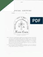 171481506 Arcane Cosmology Lecture No 4 20s 30s PDF