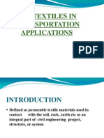 Geotextiles in Transportation Applications