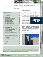Design of Reinforced Concrete Masonry Structures NZ