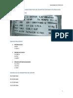 Pruebas y Curvas Caracteristicas de Un Motor Trifasico de Induccion