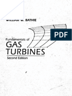 Fundamentals of Gas Turbines (William W.bathie, 2e, 1996) - Book