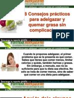 8 Consejos Practicos Para Adelgazar