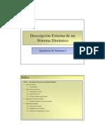 Tema 02 - Descripción Externa de un Sistema Dinámico