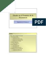 Tema 11 - Diseño en el Dominio de la Frecuencia