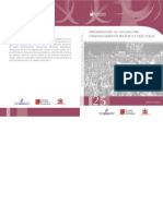 Aproximacion Al Analisis Del Comportamiento Politico y Electoral Cuaderno 25