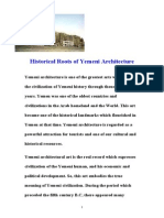 Historical Roots of Yemeni Architecture