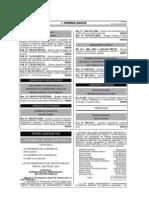 Perú - Ley de Presupuesto del Sector Público para el Año 2014