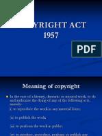 Copyright Act 1957