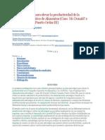 Plan estratégico para elevar la productividad de la Compañía Operativa de Alimentos