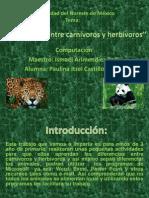 3parcial ''Carnivoros y Herbivoros''