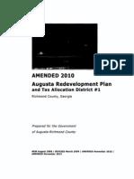 Augusta TAD 1 2013 Amendment