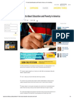 11 facts about education and poverty in america   do something