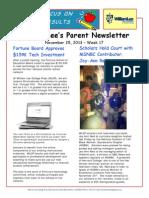 WLCP Newsletter Nov 25 2013
