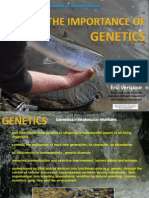 Eric Verspoor (University of the Highlands and Islands) The importance of genetics - An explanation of salmon genetics, including population structure, natural adaption etct -Verspoor