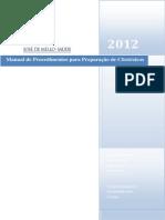 MANUAL DE PROCEDIMENTOS PARA PREPARAÇÃO DE CITOTÓXICOS finalíssimo