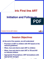 7 Paediatric First Line ART Initiation and Follow-Up-NACO Specialists Training-April 2012 - Copy-1