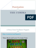 EDU5170 Lesson Plan on Comma