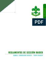Reglamento SECCIÓN RAIDER A.A.S.C.A. - 01-2009
