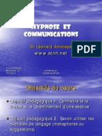 Hypnose Et Communication en Bref