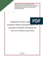 Lineamientos Comodato Al 28-05-2008.Pdf0
