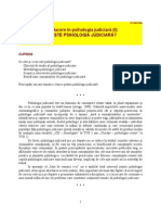 Introducere in Psihologie Judiciara