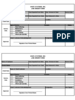 Revised Job Order Form 2 Joemar