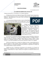 01/12/13 PLAUSIBLE LABOR DE QUÍMICOS EN LOS SSO, GTV