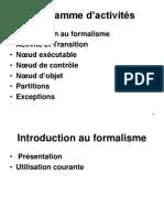 Diagramme dÆactivitÚs