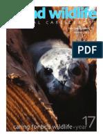 Island Wildlife Natural Care Centre 2013 Newsletter.