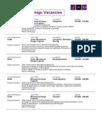 Mechanical Jobs Mailshot