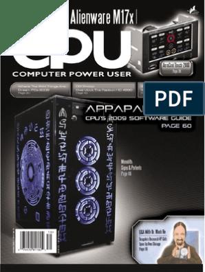 Computer Power User | Software | Technology