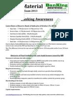 General Awareness Study Material for IBPS Clerk Exam Www.bankingawareness.com