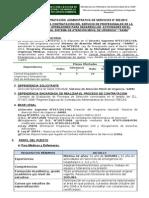 TDR y Convocatoria CAS N°002-2013-SAMU - MODIFICADO