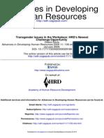 Advances in Developing Human Resources 2009 Davis 109 20