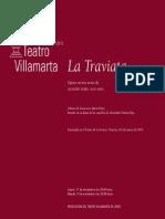 La Traviata - Libreto