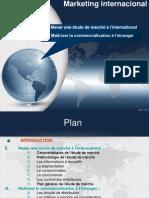 Mener une étude de marché à l'international et Maîtriser la commercialisation à l'étranger