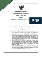 Peraturan Daerah Kota Baubau Nomor 1 Tahun 2012 Tentang Rencana Tata Ruang Wilayah Kota Baubau Tahun 2011 - 2030