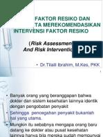 kuliah risk assessment blok Family Medicine.ppt